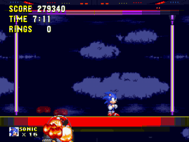 Sonic the Hedgehog 3 - GOOD AFTER 8 SAVE STAES - User Screenshot
